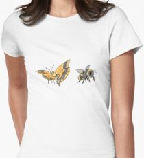 Float like a butterfly, sting like a bee Fitted T-Shirt