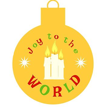 Joy To The World - Xmas Candles by miniverdesigns