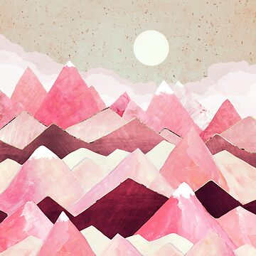 Blush Berry Peaks by spacefrogdesign