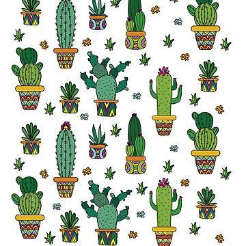 Cactuses by soondoock
