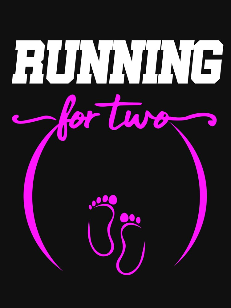 Runner Pregnancy Announcement Baby Shower Running by kh123856