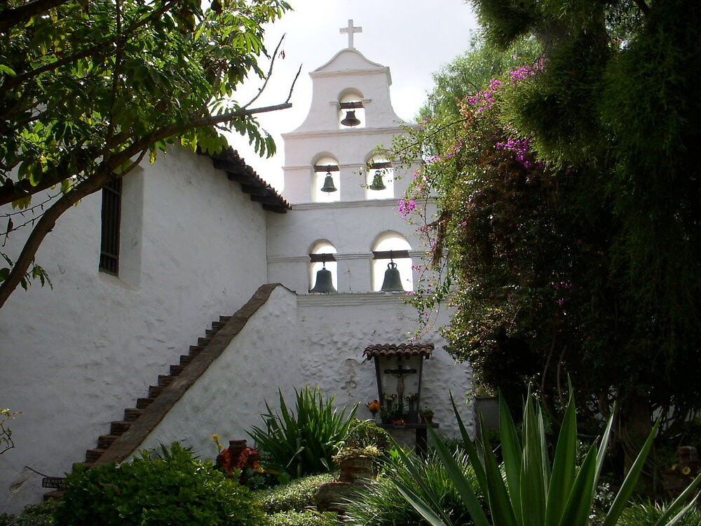 Mission in San Diego by ruthbacker
