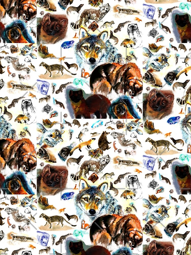 Animals Pattern by belettelepink