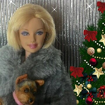 Barbie Doll Christmas sparkle by Kathryn8