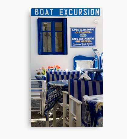 Boat Excursion Canvas Print