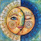 zon & maan- sun & moon by Fransien de Vries