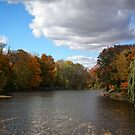 Pike River in autumn by marchello