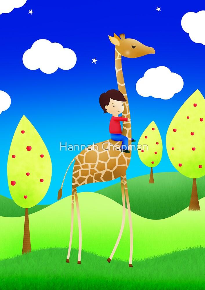 The Giraffe express by Hannah Chapman