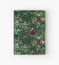 Christmas Baubles Hardcover Journal
