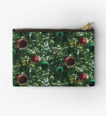 Christmas Baubles Zipper Pouch