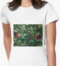 Christmas Baubles Fitted T-Shirt