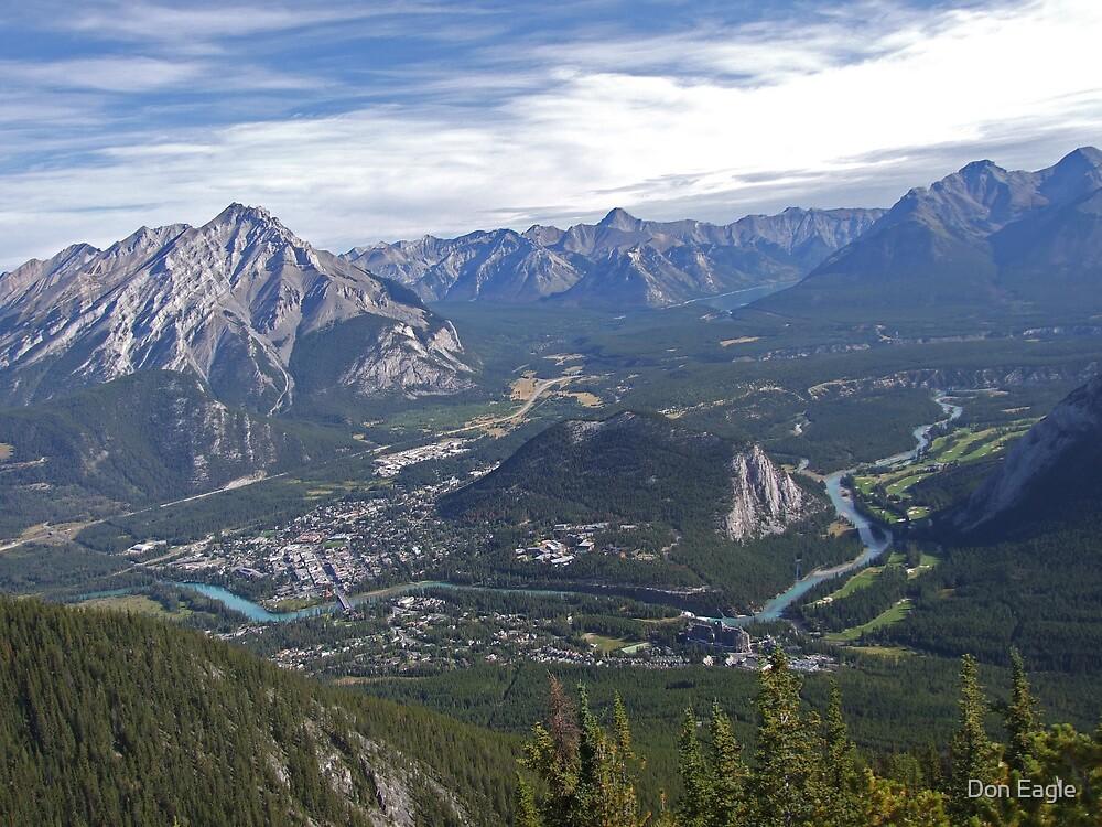 Banff Corridor by Don Eagle