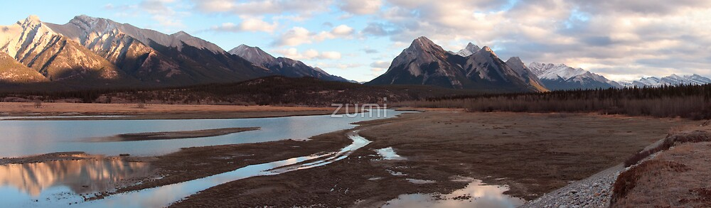 Mountains and rivers by zumi