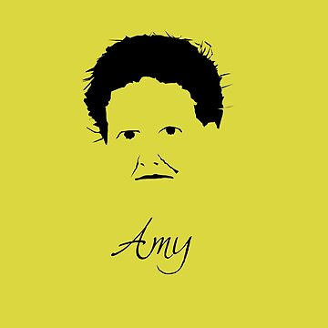 Amy Lowell Poet Writer by MephobiaDesigns