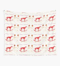 Run Free! Save the Greyhounds! Wall Tapestry