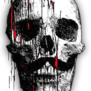Hipster Skull by Offline-Kun