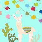 Llama Party! by southerlydesign