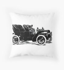 Automobile Throw Pillow