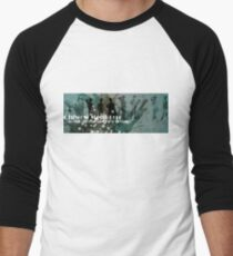 Chiwow Media business logo  Baseball ¾ Sleeve T-Shirt