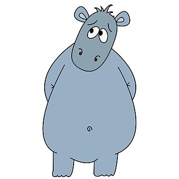 friends sweet hippo hippopotamus gift pregnancy by Donsanoj