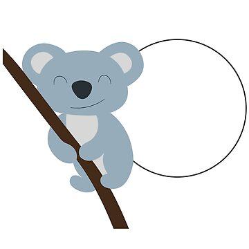 Sweet Koala Bear Australia Mate Kangaroo Gift by Donsanoj
