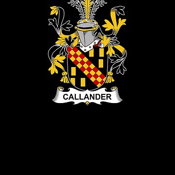 Callander Coat of Arms - Family Crest Shirt by FamilyCrest