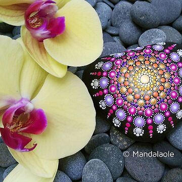 Heart shaped stone by mandalaole