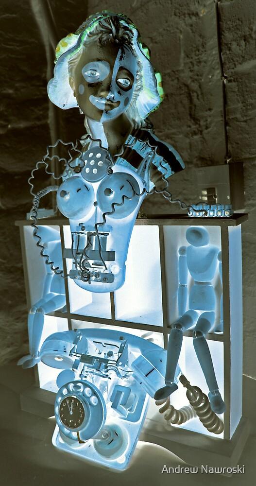 Blue Shock Box of Infinate Desires 2. by Andrew Nawroski