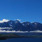 The Land of the white long cloud.....Lake Wakatipu.....New Zealand by Imi Koetz
