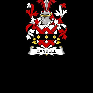 Candell Coat of Arms - Family Crest Shirt by FamilyCrest