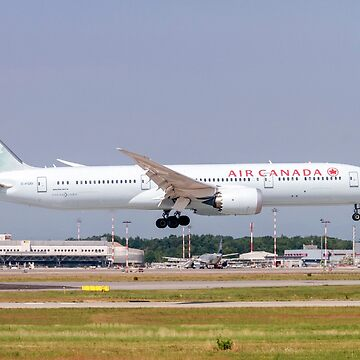 C-FGEI Air Canada Boeing 787-9 Dreamliner Photographed at Malpensa airport, Milan, Italy by PhotoStock-Isra