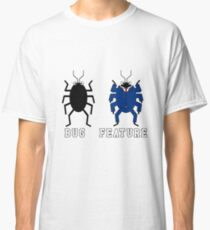 Bug vs Feature funny T-shirt Classic T-Shirt