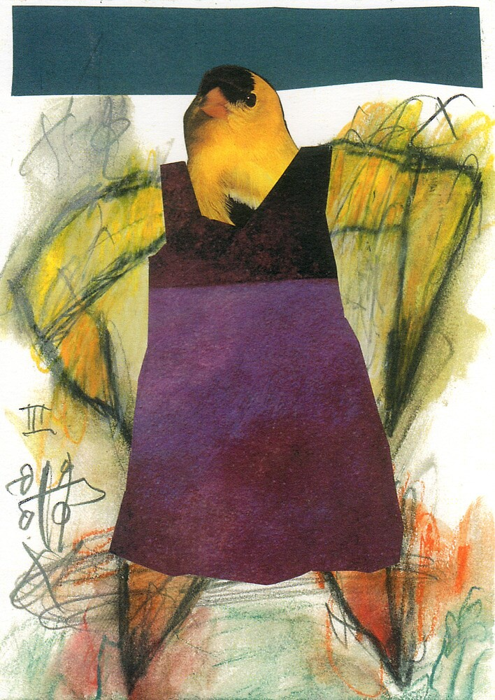 Little Bird Head 03 by ReBecca Gozion