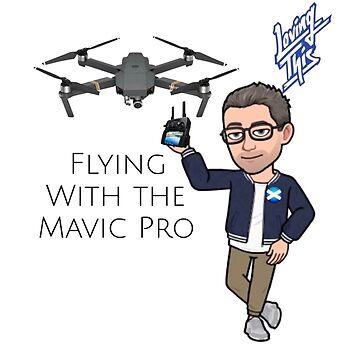 Mavic Pro Flying  by kevsphotos2008