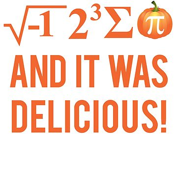 Pumpkin Pi Math Geek  by focodesigns
