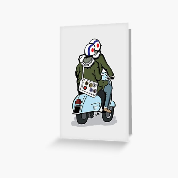 Going to A Go Go Greeting Card