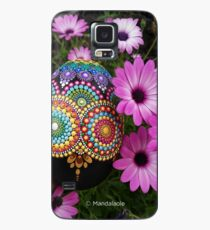 Mandala egg painted stone Case/Skin for Samsung Galaxy