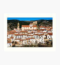 Linares de Mora, Maestrazgo, Treuel, Spain Art Print