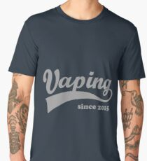 Vaping Since 2015 Men's Premium T-Shirt