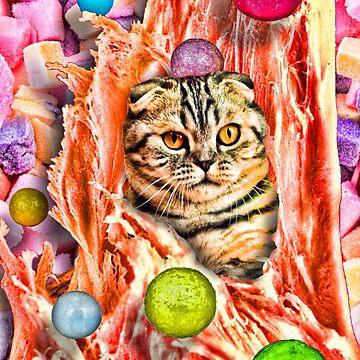Bobboo Gum Kitty by GolemAura