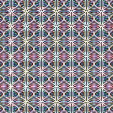 Oriental multi-color pattern. by marinaklykva