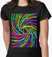 Brush Strokes 2 Womens Fitted T-Shirt