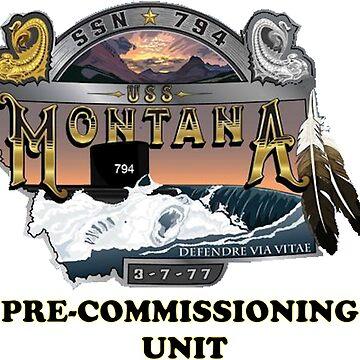 PCU Montana (SSN-794) by Spacestuffplus