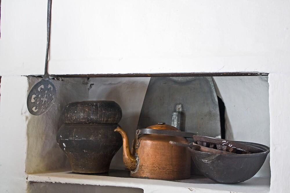 Kitchen Corner by Karen Millard
