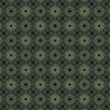 Oriental green pattern. by marinaklykva