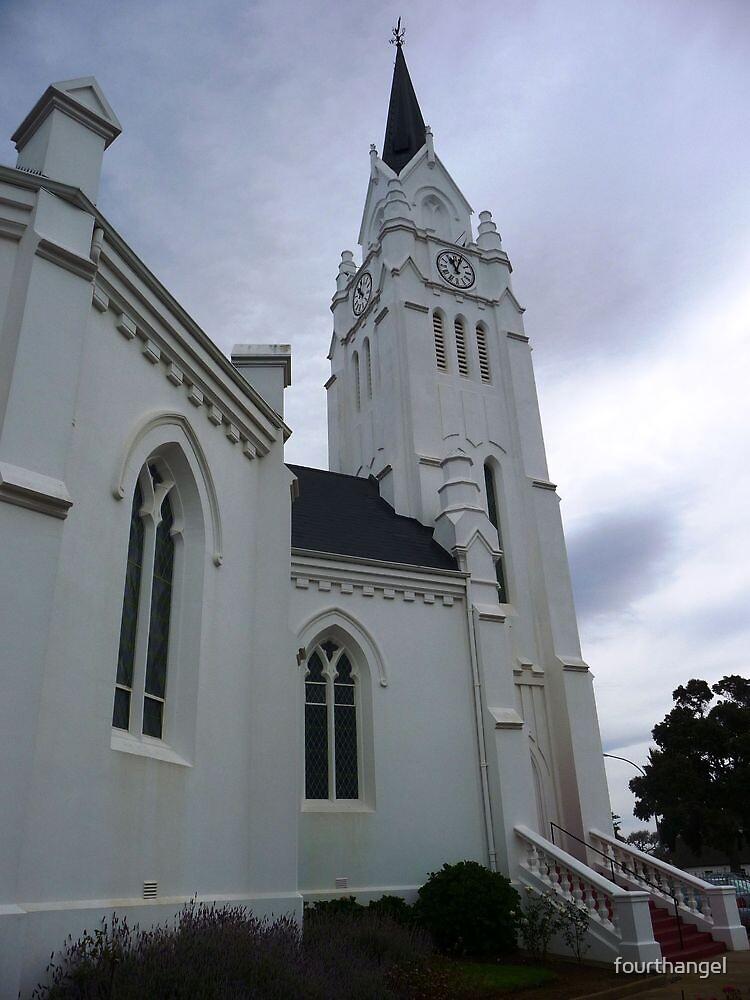 Dutch Reformed Church Bredasdorp by fourthangel