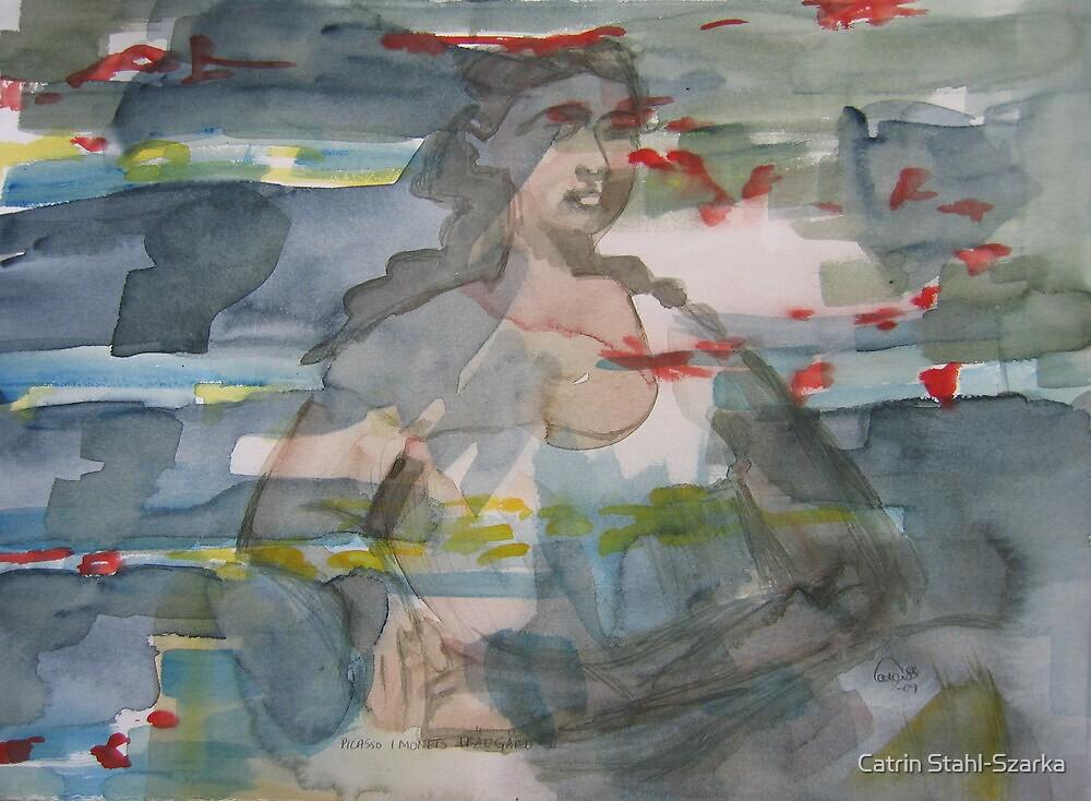 Picasso in Monets garden by Catrin Stahl-Szarka