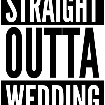 Straight Outta Wedding Berlin Germany Neighborhood White Design by ramiro