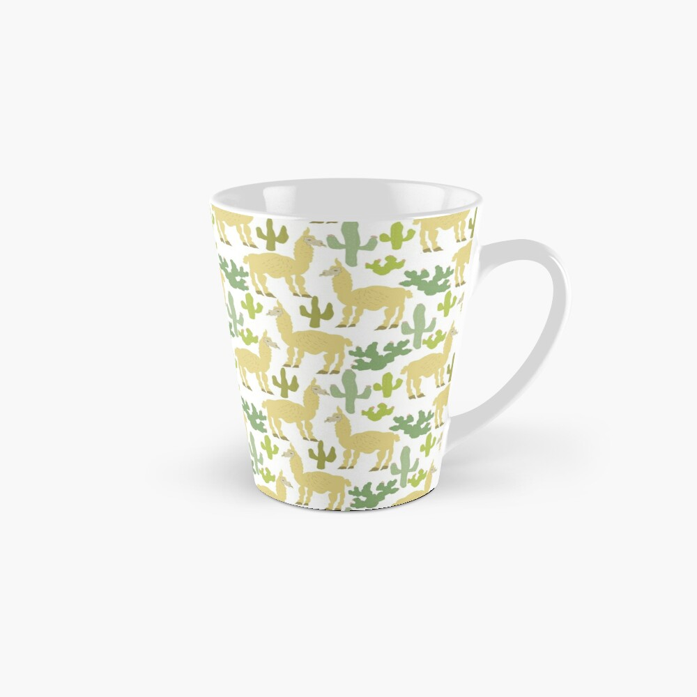 Alpacas in the Desert Tall Mug