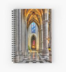 Cathedrale de Liege - Belgium Spiral Notebook